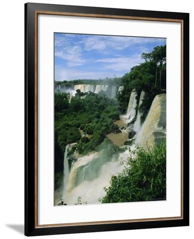 Iguacu Falls, Argentina, South America-Jane Sweeney-Framed Art Print