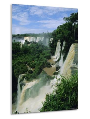 Iguacu Falls, Argentina, South America-Jane Sweeney-Metal Print