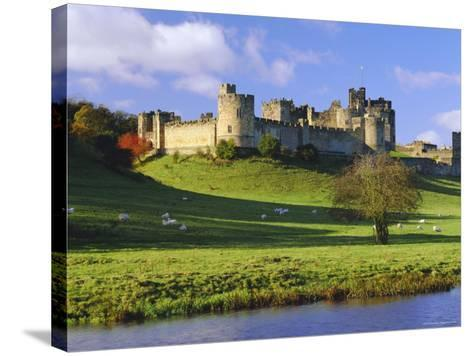 Alnwick Castle, Alnwick, Northumberland, England-Lee Frost-Stretched Canvas Print