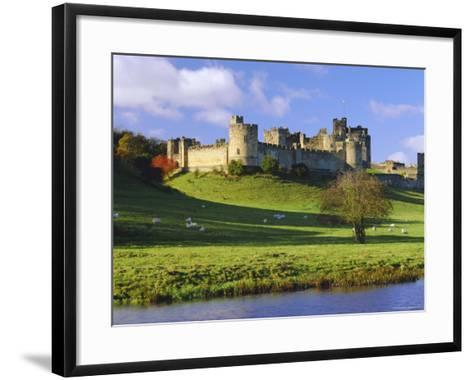 Alnwick Castle, Alnwick, Northumberland, England-Lee Frost-Framed Art Print