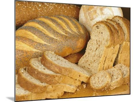 Bread Loaves and Slices of Bread-Lee Frost-Mounted Photographic Print