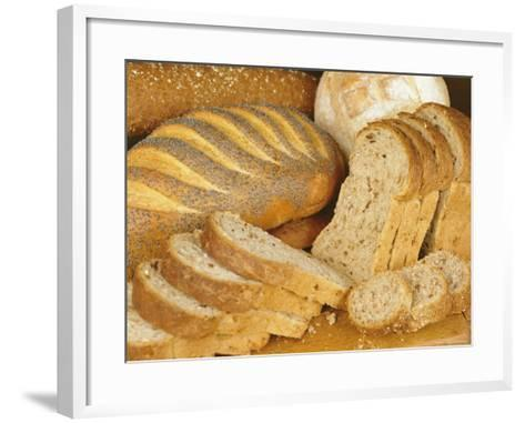 Bread Loaves and Slices of Bread-Lee Frost-Framed Art Print