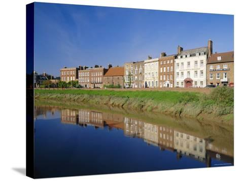 North Brink, One of England's Finest Georgian Streets, Wisbech, Cambridgeshire, England-Lee Frost-Stretched Canvas Print