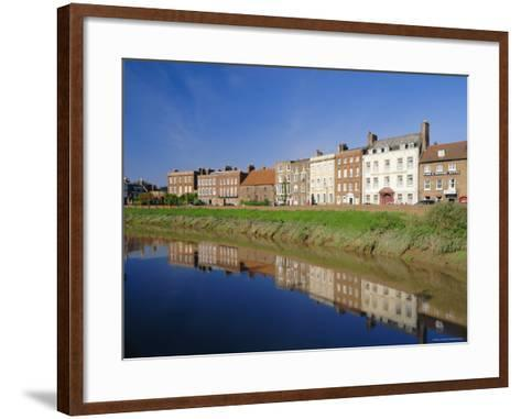 North Brink, One of England's Finest Georgian Streets, Wisbech, Cambridgeshire, England-Lee Frost-Framed Art Print