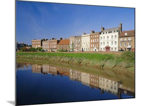 North Brink, One of England's Finest Georgian Streets, Wisbech, Cambridgeshire, England-Lee Frost-Mounted Photographic Print