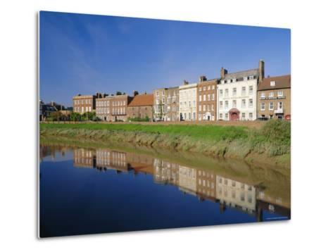 North Brink, One of England's Finest Georgian Streets, Wisbech, Cambridgeshire, England-Lee Frost-Metal Print