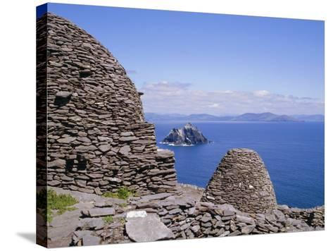 Early Christian Site, Skellig Michael, County Kerry, Munster, Republic of Ireland (Eire), Europe-Michael Jenner-Stretched Canvas Print