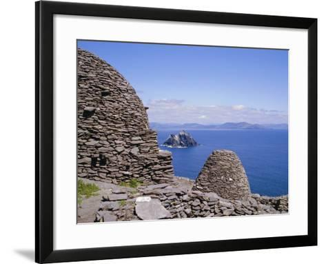 Early Christian Site, Skellig Michael, County Kerry, Munster, Republic of Ireland (Eire), Europe-Michael Jenner-Framed Art Print