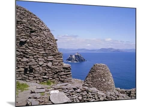 Early Christian Site, Skellig Michael, County Kerry, Munster, Republic of Ireland (Eire), Europe-Michael Jenner-Mounted Photographic Print
