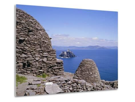 Early Christian Site, Skellig Michael, County Kerry, Munster, Republic of Ireland (Eire), Europe-Michael Jenner-Metal Print