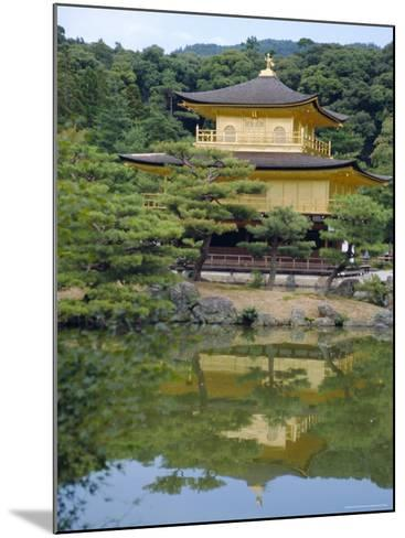 Temple of the Golden Pavilion, Kyoto, Japan-David Poole-Mounted Photographic Print