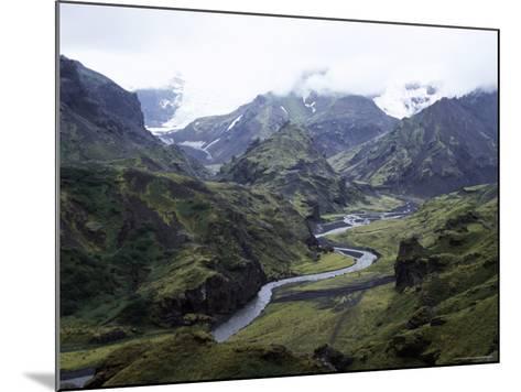 Porsmork Valley, Iceland, Polar Regions-David Poole-Mounted Photographic Print