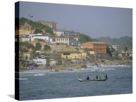 Cape Coast, Ghana, Africa-David Poole-Stretched Canvas Print