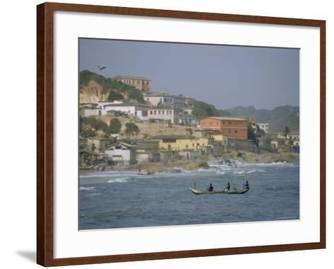 Cape Coast, Ghana, Africa-David Poole-Framed Art Print