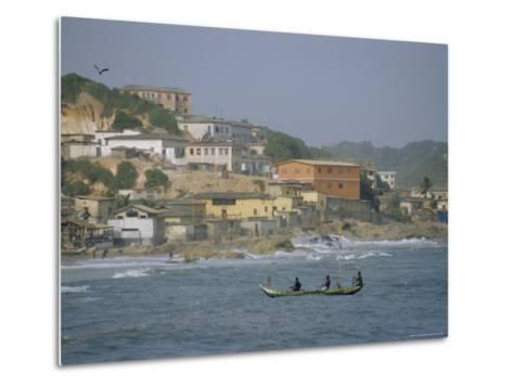 Cape Coast, Ghana, Africa-David Poole-Metal Print