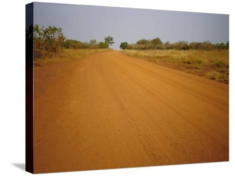 The Main Road from Cameroun to the Capital Bangui, Central African Republic, Africa-David Poole-Stretched Canvas Print