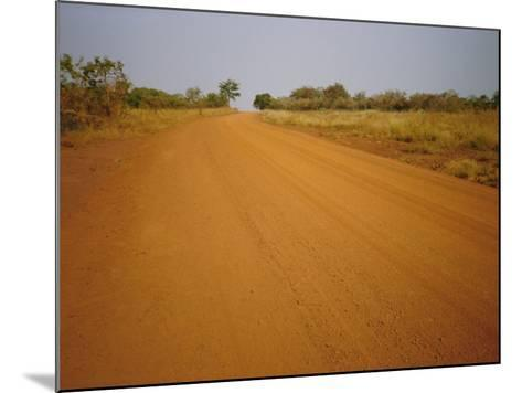 The Main Road from Cameroun to the Capital Bangui, Central African Republic, Africa-David Poole-Mounted Photographic Print
