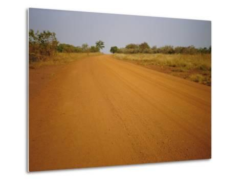 The Main Road from Cameroun to the Capital Bangui, Central African Republic, Africa-David Poole-Metal Print