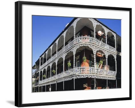 French Quarter, New Orleans, Louisiana, USA-Charles Bowman-Framed Art Print