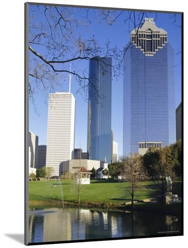 Skyscrapers, Houston, Texas, USA-Charles Bowman-Mounted Photographic Print