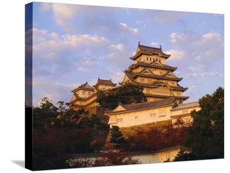 Hakuro-Jo (White Egret) Castle, Himeji, Japan-Charles Bowman-Stretched Canvas Print