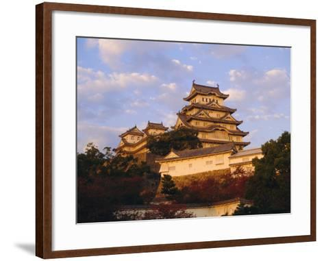 Hakuro-Jo (White Egret) Castle, Himeji, Japan-Charles Bowman-Framed Art Print