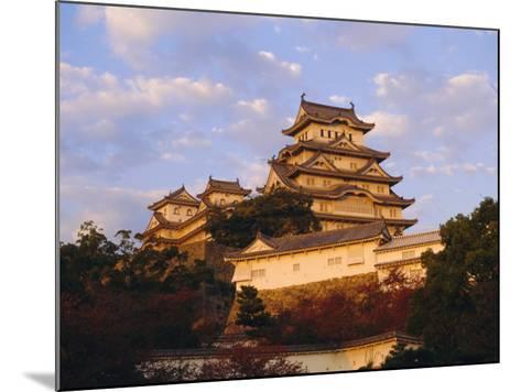 Hakuro-Jo (White Egret) Castle, Himeji, Japan-Charles Bowman-Mounted Photographic Print