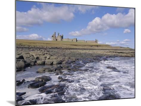 Dunstanburgh Castle and the Coast, Northumbria (Northumberland), England, UK, Europe-Charles Bowman-Mounted Photographic Print