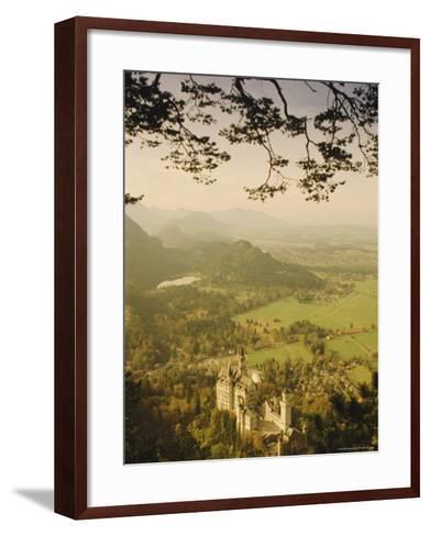 Neuschwanstein Castle, Bavaria, Germany, Europe-Charles Bowman-Framed Art Print