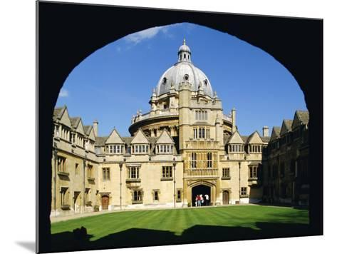 Brasenose College, Oxford University, Oxford, Oxfordshire, England, UK, Europe-Charles Bowman-Mounted Photographic Print