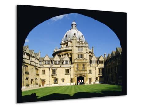 Brasenose College, Oxford University, Oxford, Oxfordshire, England, UK, Europe-Charles Bowman-Metal Print