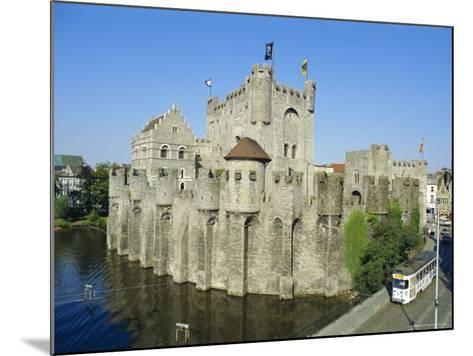 Castle, Ghent, Belgium-Charles Bowman-Mounted Photographic Print