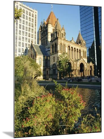 Trinity Church and Hancock Tower, Boston, Massachusetts, New England, USA-Charles Bowman-Mounted Photographic Print