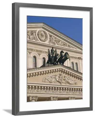 The Bolshoi Theater, Moscow, Russia-Charles Bowman-Framed Art Print