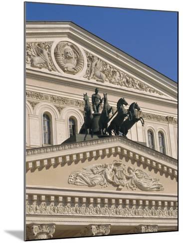 The Bolshoi Theater, Moscow, Russia-Charles Bowman-Mounted Photographic Print