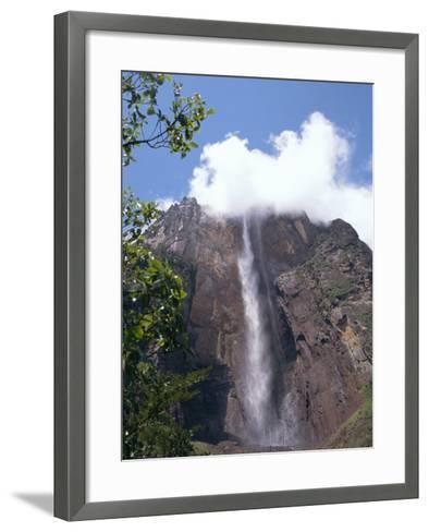 Angel Falls, Canaima National Park, Venezuela, South America-Charles Bowman-Framed Art Print