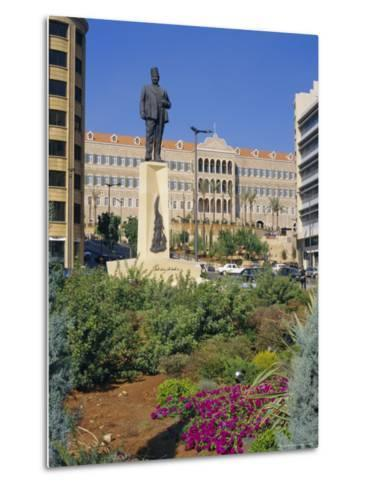 Parliament, Grand Serail, Beirut, Lebanon, Middle East, North Africa-Charles Bowman-Metal Print