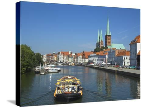 Lubeck, Schleswig Holstein, Germany, Europe-Charles Bowman-Stretched Canvas Print