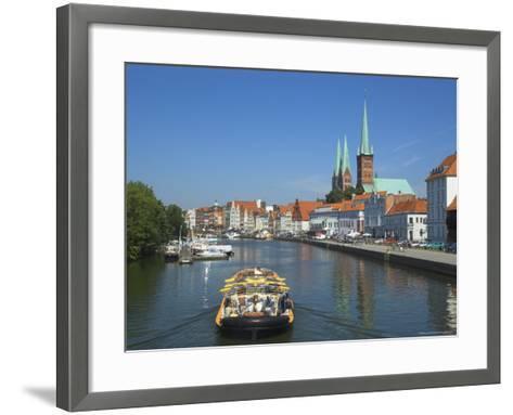 Lubeck, Schleswig Holstein, Germany, Europe-Charles Bowman-Framed Art Print