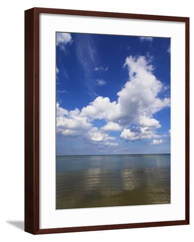 Binz, Rugen, West Pommerania Mecklenburg, Germany, Europe-Charles Bowman-Framed Art Print