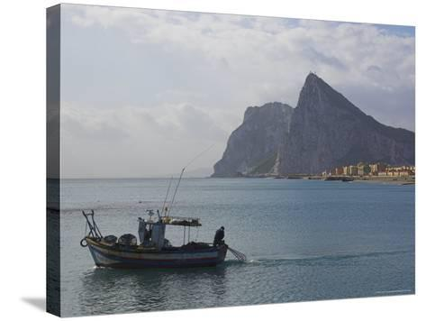 Gibralter, Europe-Charles Bowman-Stretched Canvas Print