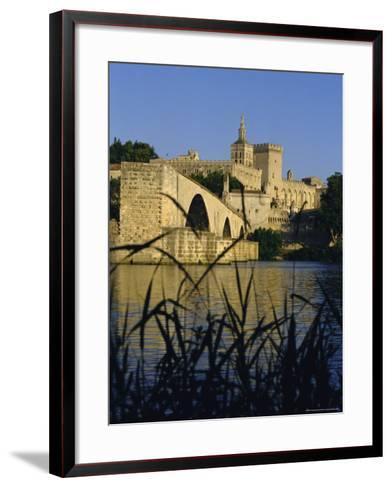 The River Rhone at Avignon, Provence, France-Charles Bowman-Framed Art Print