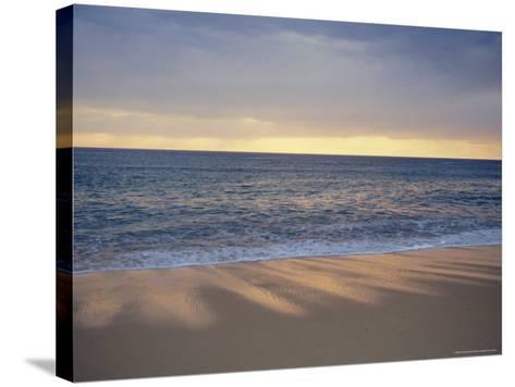 Beach and Sea, St. Girons, Landes, Aquitaine, France, Europe-Charles Bowman-Stretched Canvas Print