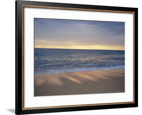 Beach and Sea, St. Girons, Landes, Aquitaine, France, Europe-Charles Bowman-Framed Art Print