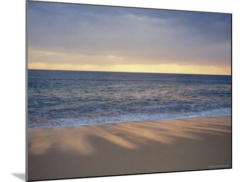 Beach and Sea, St. Girons, Landes, Aquitaine, France, Europe-Charles Bowman-Mounted Photographic Print