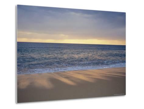 Beach and Sea, St. Girons, Landes, Aquitaine, France, Europe-Charles Bowman-Metal Print