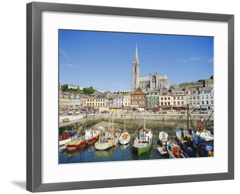 The Port of Cork City, Cork, County Cork, Munster, Republic of Ireland (Eire), Europe-Adina Tovy-Framed Art Print