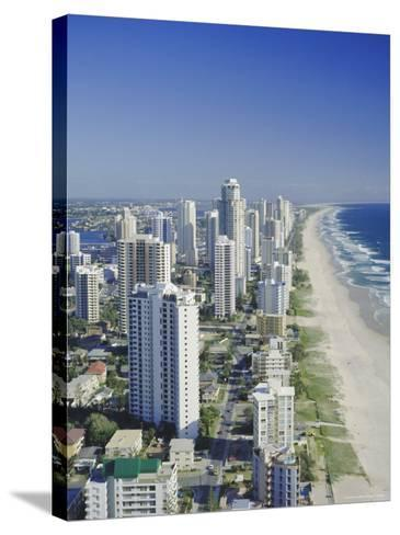 Aerial View of Surfers Paradise, the Gold Coast, Queensland, Australia-Adina Tovy-Stretched Canvas Print