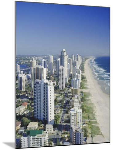 Aerial View of Surfers Paradise, the Gold Coast, Queensland, Australia-Adina Tovy-Mounted Photographic Print