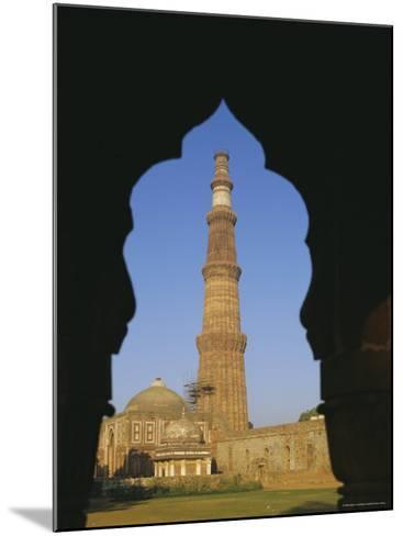 Qutb Minar, Delhi, India, Asia-Adina Tovy-Mounted Photographic Print